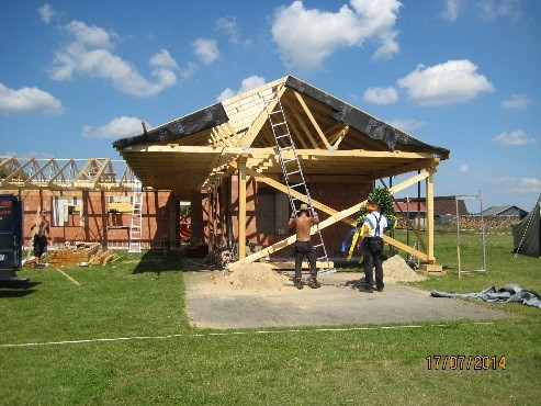 Sanierung Sporthaus Breddin